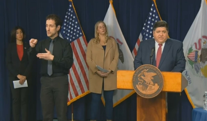 Pritzker calls for volunteers as confirmed coronavirus cases see largest single-day spike