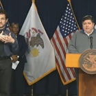 Pritzker keeps pressure on feds, asks all medical professionals to join COVID-19 fight
