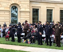 Illinois law enforcement community honors officers killed in line of duty